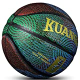 Kuangmi Cool Basketball Personality Street Ball for Men Youth Teenager (Official Size 7 (29.5''))