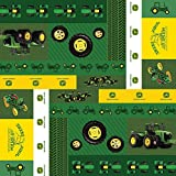 Officially Licensed John Deere Vintage Gift Wrap Rolled Paper (2.5 ft X 3.3 yds)