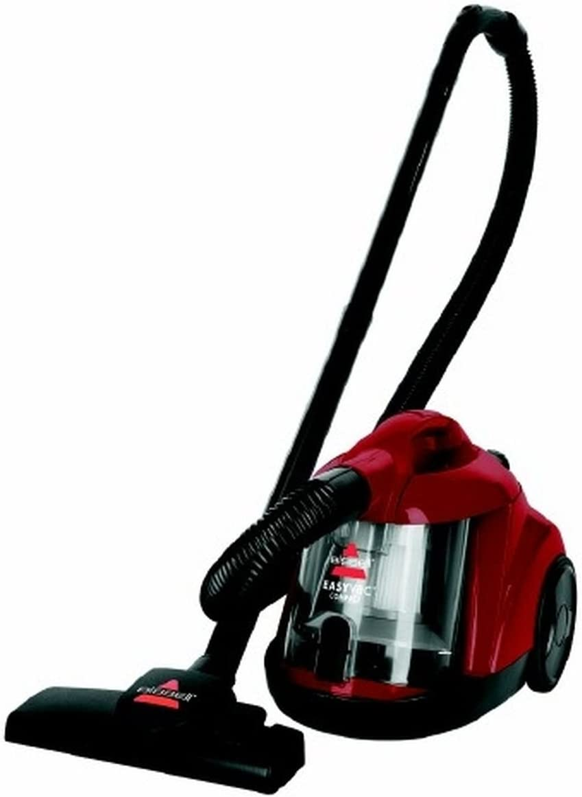 BISSELL Easy Vaccum Compact Bagless Cylinder 1,500 W Red