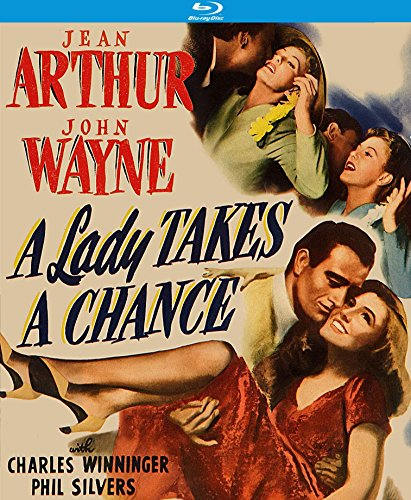 A Lady Takes a Chance [Blu-ray]