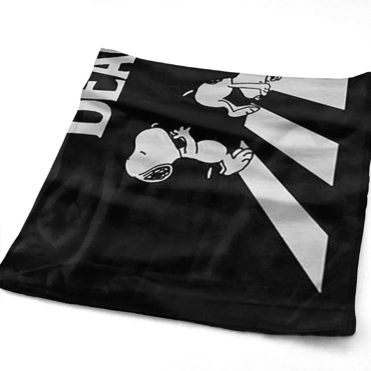 Greatbe Asciugamani Sportivi Resistenti Snoopy Ideale per luso Quotidiano Asciugamani da Bagno Ultra Morbidi da 11,8X 27,5per Piscina Spiaggia Viaggi