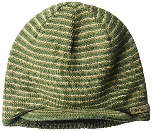 Columbia Men's Northern Peak Visor Beanie, Mossy Green, One Size