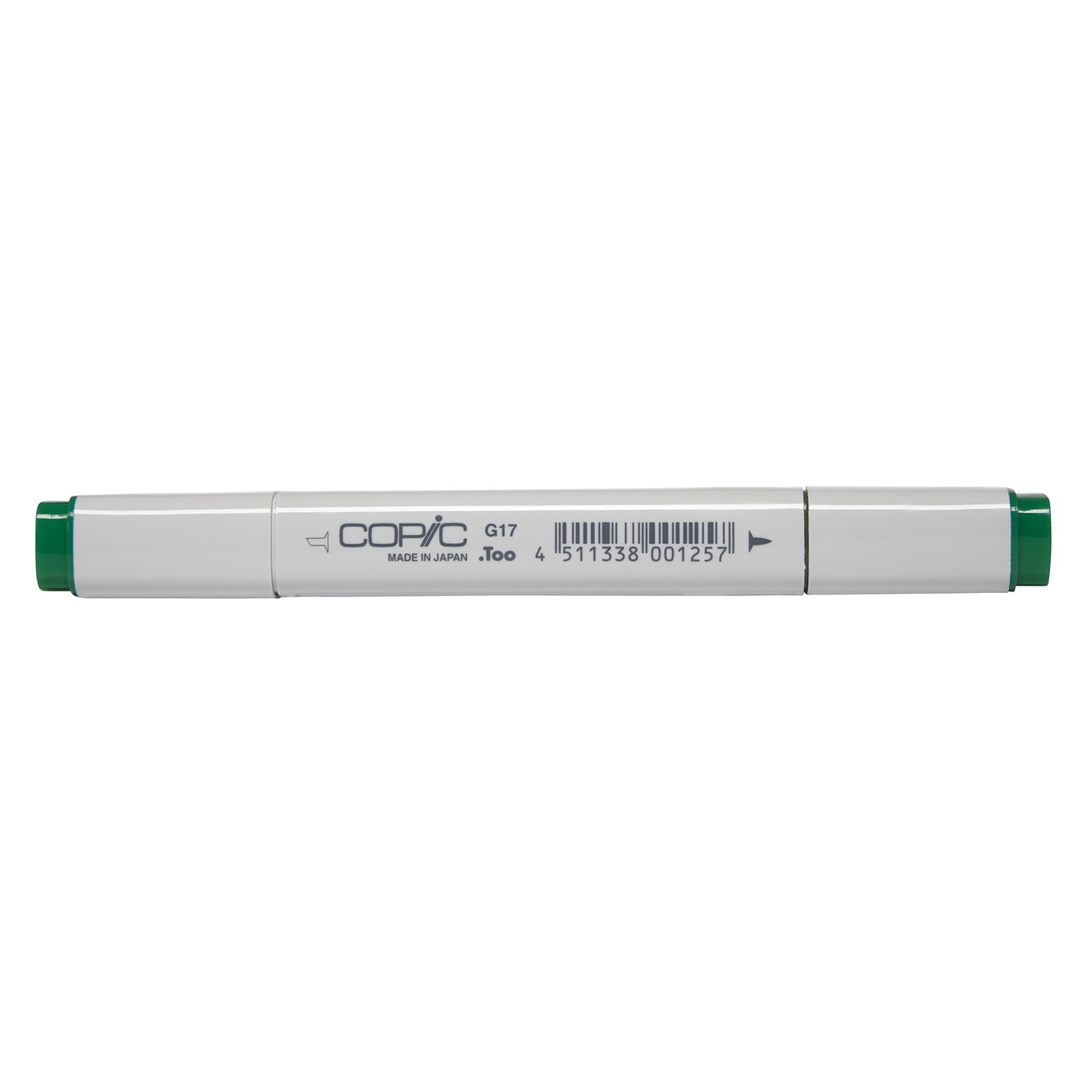 Copic Marker with Replaceable Nib, G17-Copic, Forest Green