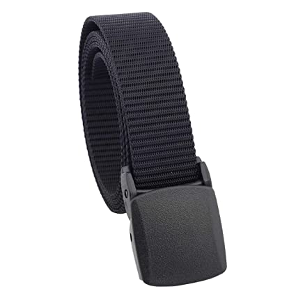 Sportmusies Women s Nylon Webbing Military Style Tactical Duty Belt with  Plastic Buckle c53acd456d