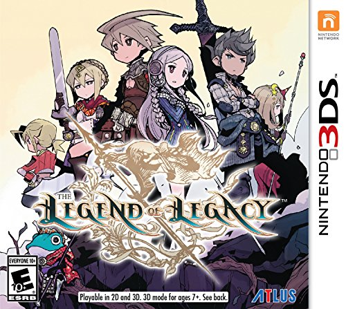 The Legend of Legacy – Nintendo 3DS