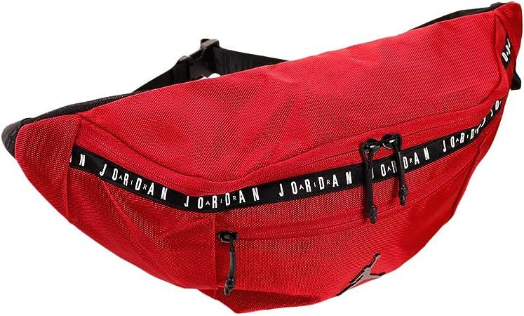 SIDA Espectacular Enmarañarse  Amazon.com: Nike Air Jordan - Bolso bandolera para hombre, Rojo (Gym Red)),  9A0245-R78