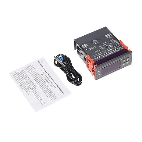 61dLV1qabqL._SX466_ amazon com docooler� digital temperature controller thermocouple  at eliteediting.co