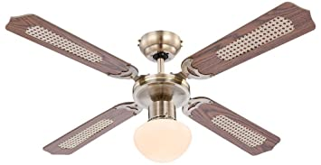 Deckenlampe Mit Zugschalter ~ Deckenventilator mit beleuchtung und zugschalter stufen alt