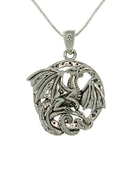 Amazon.com: Jewelry – Collar de plata de ley tendencias ...