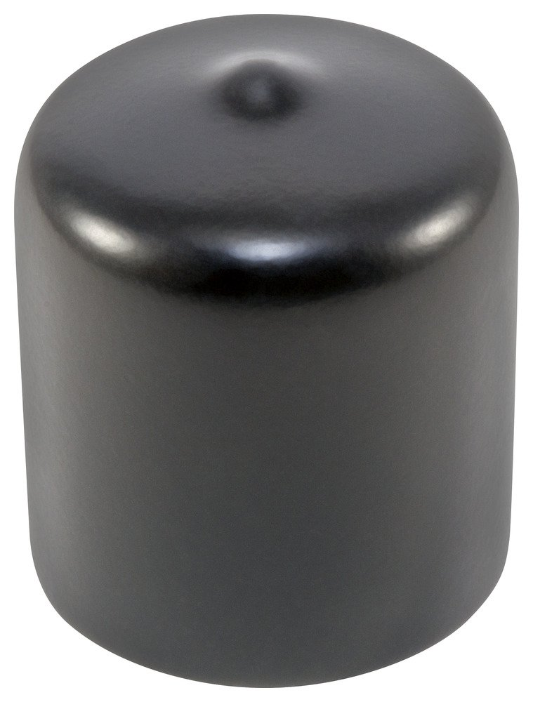 Caplugs 99390084 masking Flexible Round Cap . HVC-750-16, VINYL, Cap ID 0.750'' Length 1.000'', Black (Pack of 25)