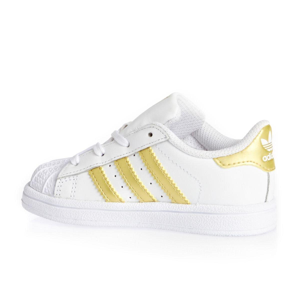 adidas Unisex Baby Superstar I Sneaker wei/ß