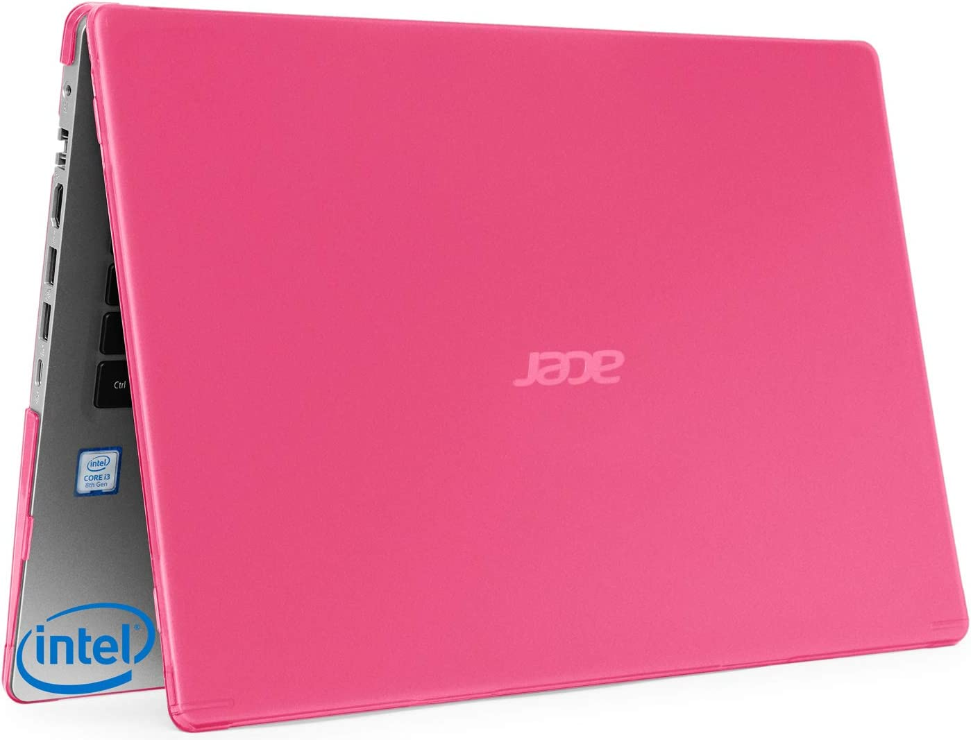 "mCover Hard Shell Case for 15.6"" Acer Aspire 5 A515-43 Series (with AMD CPU) Windows Laptop – A515-AMD Pink"