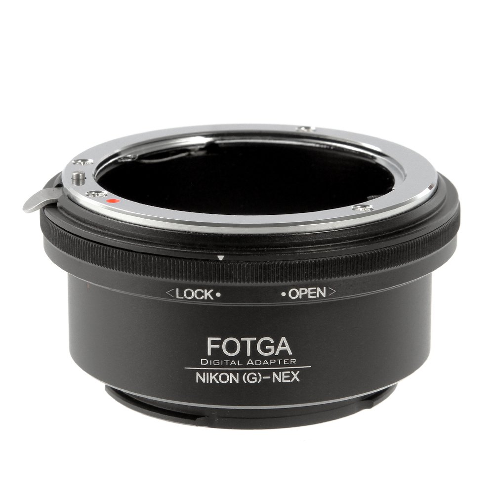 Lens Mount Adapter for Nikon G F AI AIS Lens to Sony NEX5 5C 5N 5R NEX6 NEX7 a7S a7R a7II a7SII a7RII A7III A7RIII A7SIII A9 a6500 a6300 a6000 a5100 a5000 a3500 Camera Adapter