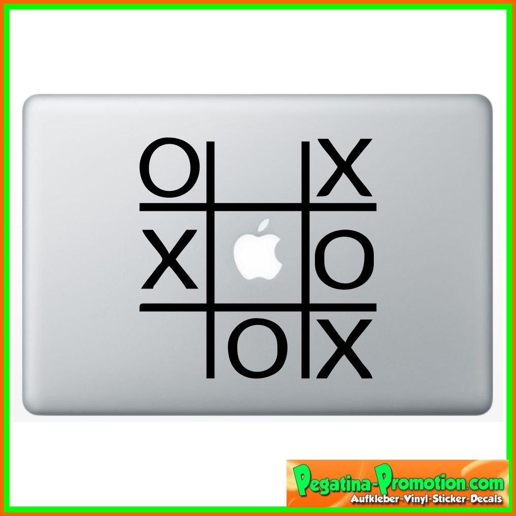 Macbook Sticker Tic Tac Toe High Quality Sticker Decal