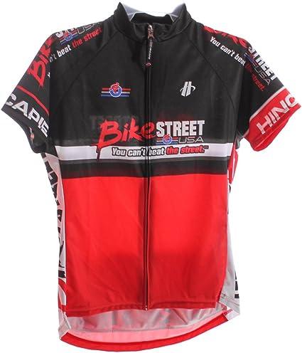 HINCAPIE AXIS CLUB Women/'s Cycling Jersey Sm Short Sleeve Red//Black BIKE ST NEW