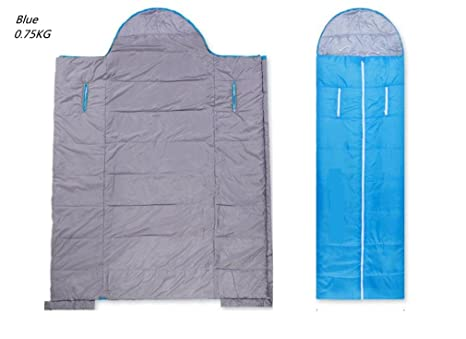 SHUIDAI Saco de Dormir al Aire Libre Bolsa de Mano Protrusile Interior 4 Temporada de sueño