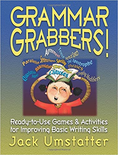 Amazon grammar grabbers ready to use games and activities for grammar grabbers ready to use games and activities for improving basic writing skills 1st edition fandeluxe