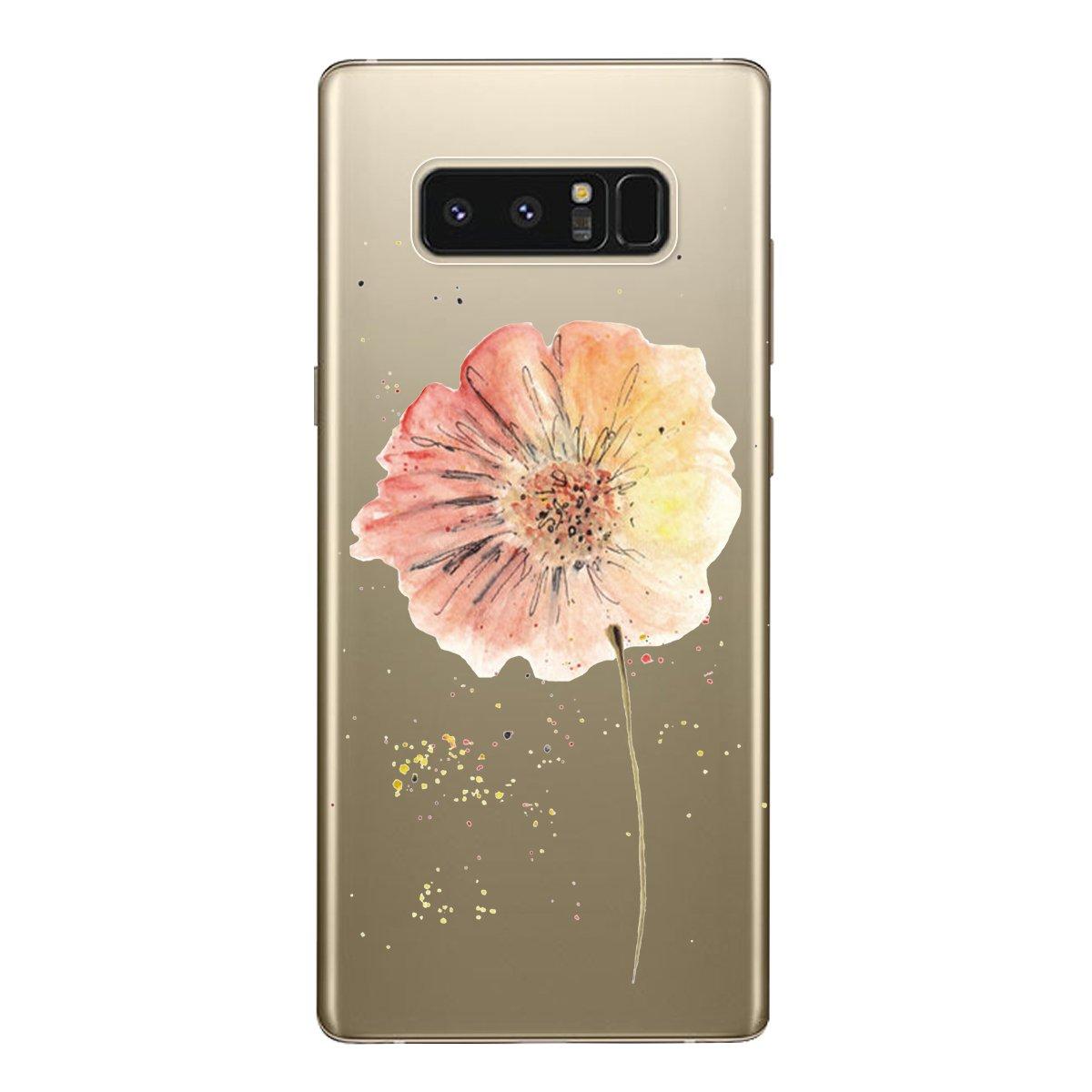 f/ür Samsung Galaxy S8 H/ülle Transparent Silikon Handytasche Handyh/ülle Schutzh/ülle TPU Etui Bumper Ultra D/ünn Slim Durchsichtig Clear Case Cover 3 Packs Rose Rot Grau Yokata Blau