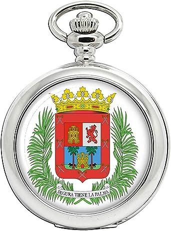 Las Palmas (España) Reloj Bolsillo Hunter Completo: Amazon.es: Relojes