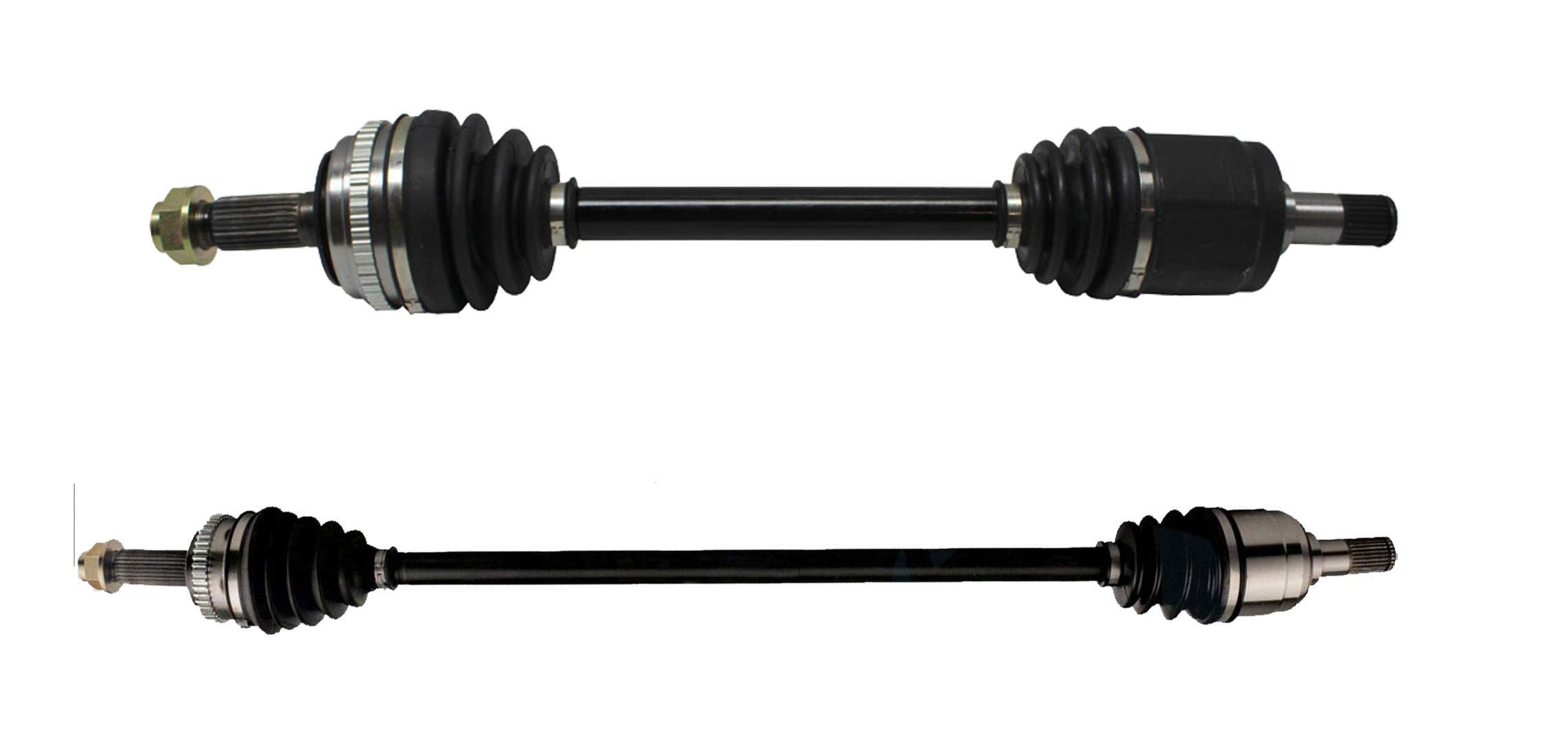 Detroit Axle - Pair (2) Complete Front CV Axle Drive Shafts Left and Right Side for 1998 1999 2000 2001 2002 Honda Accord 2.3L w/Automatic Transmission
