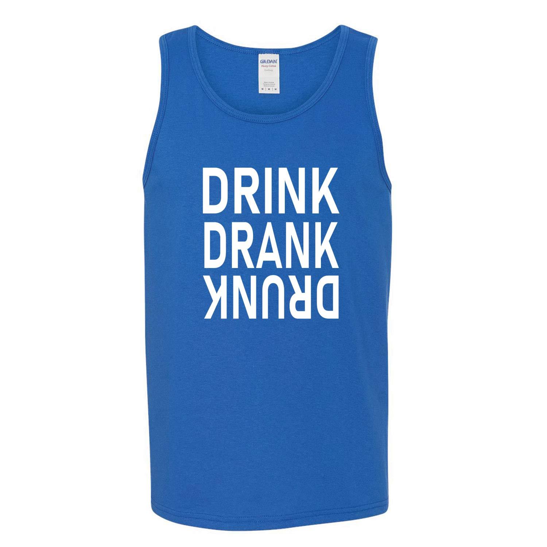 Donkey Threads Drink Drank Drunk Drinking Mens Graphic Tank Top
