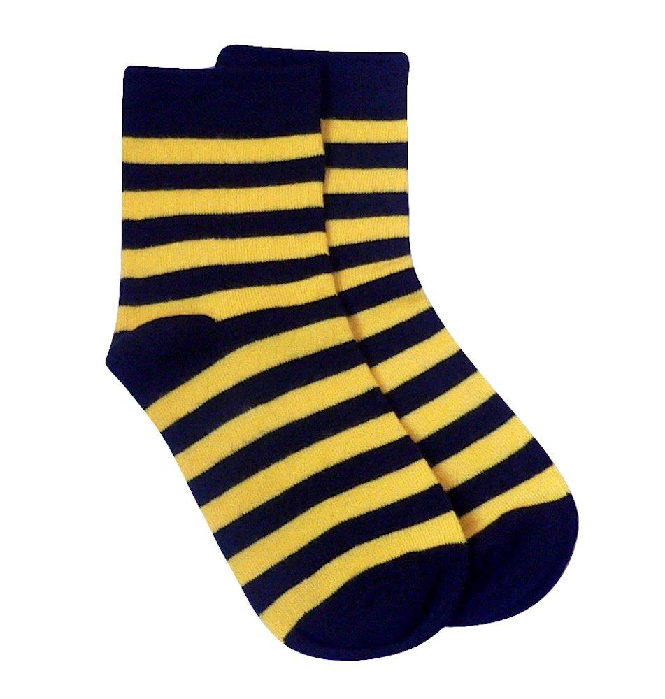 Rambutan Kids Striped Seamless Colorful Bamboo Socks US 13-2 RY1-002