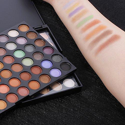 Abody Eye Shadow 120 Colors Makeup Eyeshadow Palette Neutral Warm
