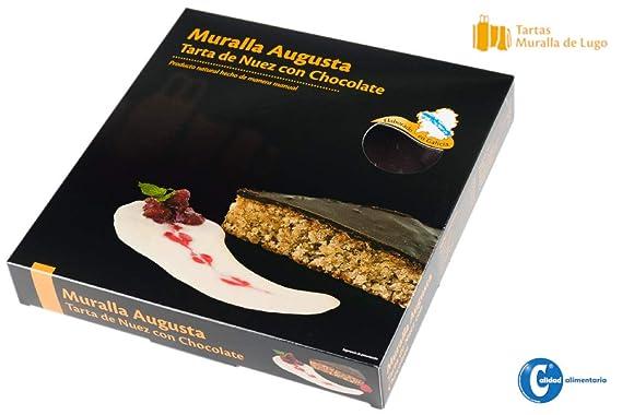 Tarta de Nuez con Chocolate - Tartas Muralla: Amazon.es ...