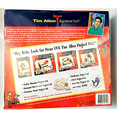 Tim Allen Signature Stuff Treasure Chest Project Kit: Toys & Games