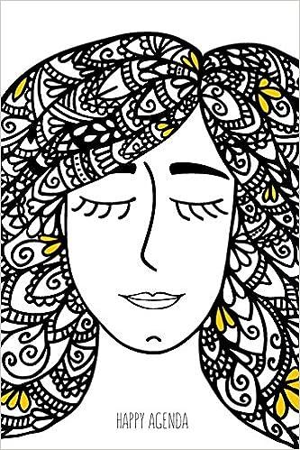 Amazon.com: Happy Agenda Perpetua: Zentangle Girl: Agenda ...