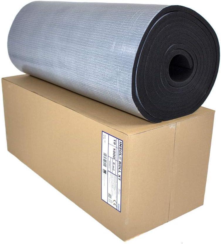 D/ämmmatte selbstklebend Kautschuk Isoliermatte 6mm D/ämmdicke D/ämmung Isolierung 1m/² 20m/² Markenqualit/ät Insul-Roll XT D/ämmplatte selbstklebend, 6mm - 1m/²