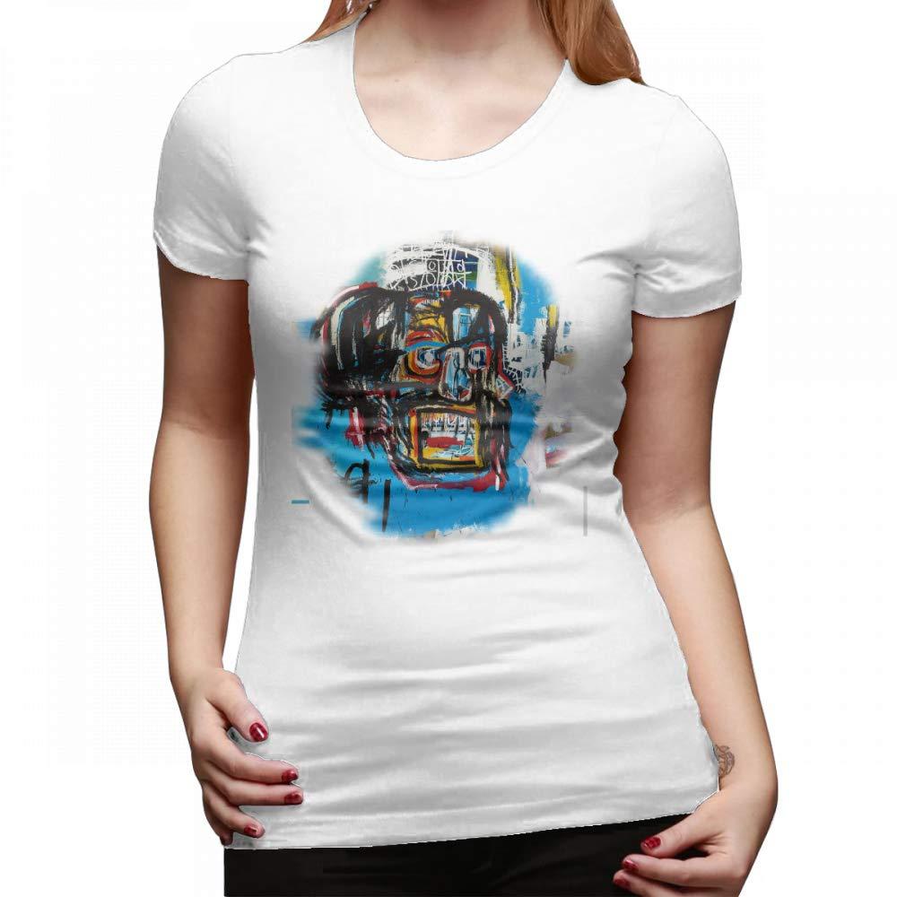 Jean Michel Basquiat Unique T Shirt Top Short Sleeve 8150