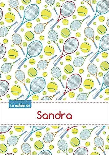 Livres gratuits en ligne CAHIER SANDRA BLANC,96P,A5 TENNIS pdf, epub