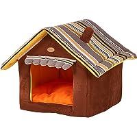 GBlife Pet Cuccia a Casa Letto Pieghevole Cuccia con Cuscino per Cani Gatti Lettino per Animali (L)