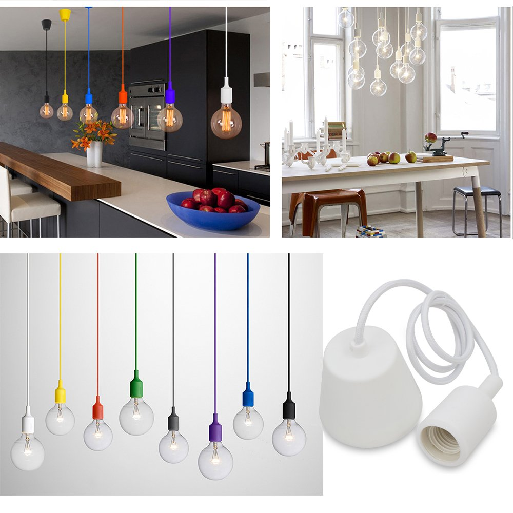 Princeway Farbe Silikon Decke Hngende Beleuchtung Befestigung Europische Moderne IKEA Stil DIY Einfache Installation Fr Zuhause In