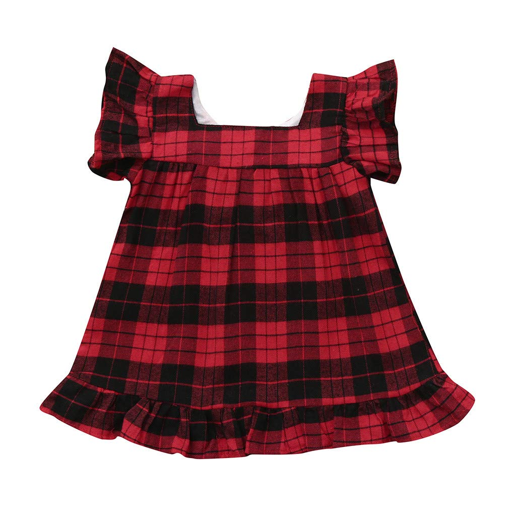Easter Dress, Newborn Kid Baby Girl Fruit Print Tulle Patchwork Princess Beach Dress Sundress,Women's Costumes,Beige,2-3T