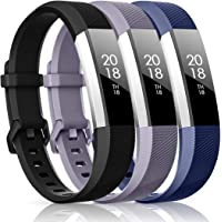 CreateGreat Compatible with Fitbit Alta HR and Alta Bands, Sport Accessory Band Wristbands with Metal Buckle Small or…