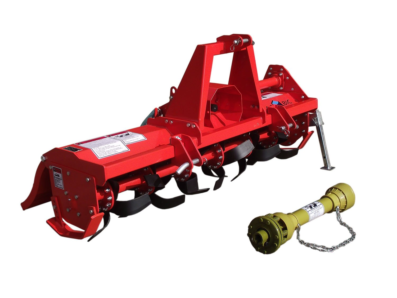 3pt Rotary Tiller Accubic#rta56, Cat1, 56in.working Width, Gear Drive, 36 Blades, Offset, Slip Clutch PTO by ACCUBIC (Image #4)