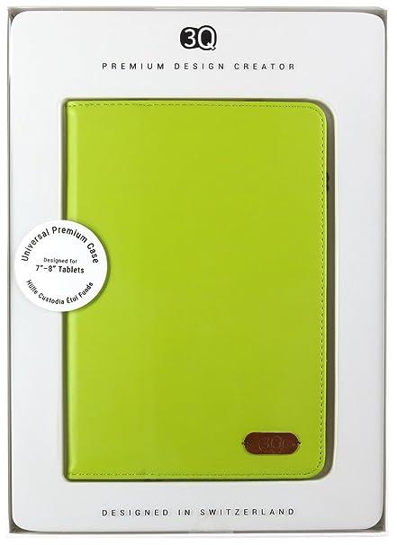 3q Universal Tablet Hülle 7 Zoll 8 Zoll Hochwertiger Leder Optik Elegante Tablet Tasche Etui Mit Fächern Für Kreditkarte Geld Visitenkarte Schweizer