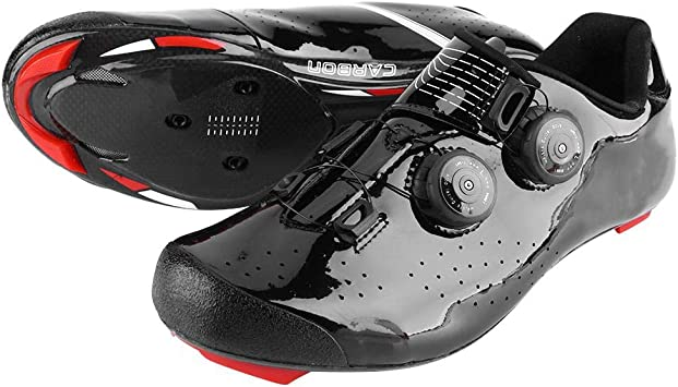 VGEBY1 Zapatillas de Bicicleta, Zapatillas de Ciclismo de Fibra de ...