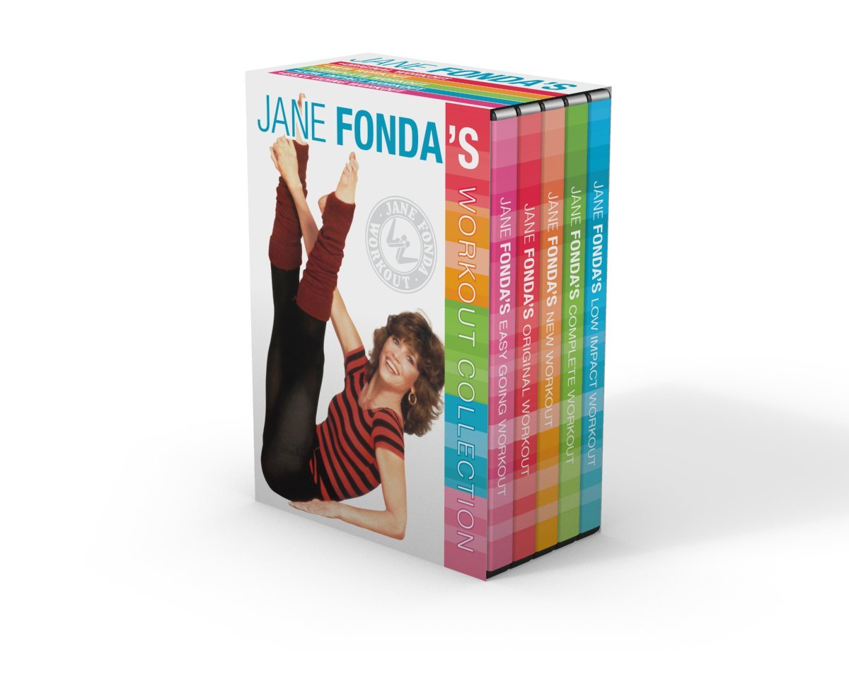 Amazon.com: Jane Fonda\u0027s Workout Collection: Jane Fonda, Sid ...