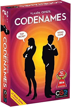 Jaynil Enterprise Codenames Word Game, Family and Friends Entertainment Board Game