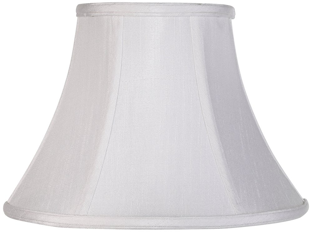 Imperial Collection White Bell Lamp Shade 6x12x9 (Spider) by Imperial Shade Collection