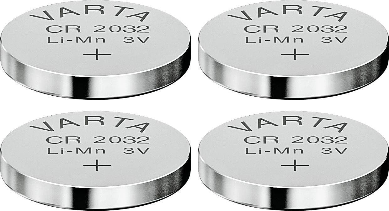 Varta Knopfbatterie Lithium Cr 2032 3 Volt 4er Set Elektronik