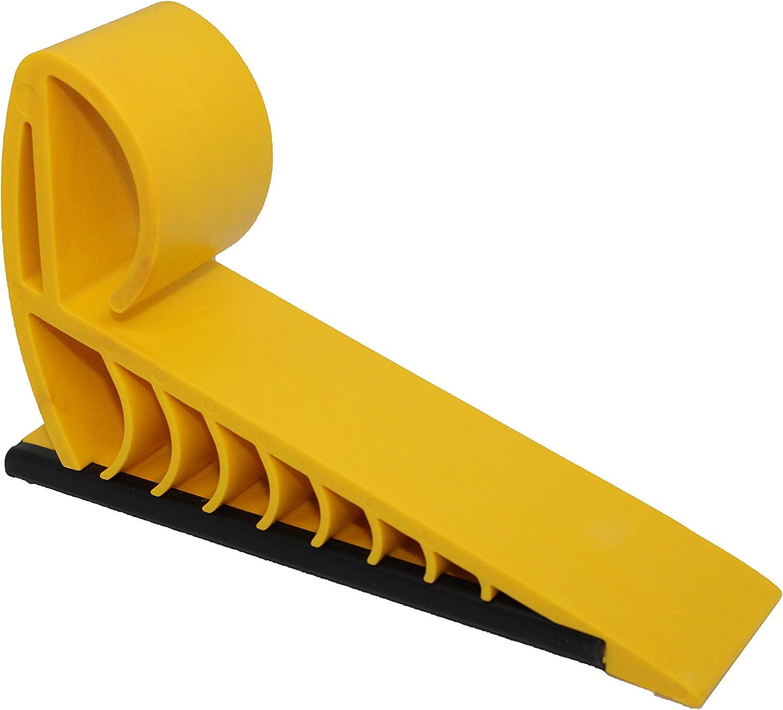 Gripper Doorstop 24 Pack Yellow