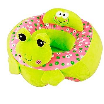 Amazon.com: Sofá de bebé de felpa, asiento de apoyo para ...