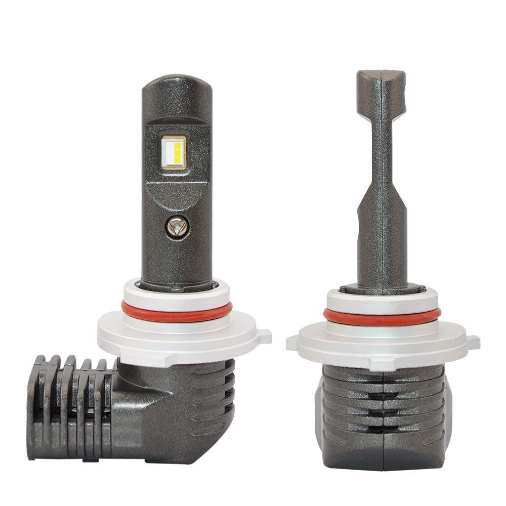 HB3 9005 LED Headlight Bulb - NSLUMO 9005/HB3 FLIP Chips LED Headlight Bulb Conversion Kit 50w 6000k 5600lumens Extremely Bright Promotional Unique Design ...