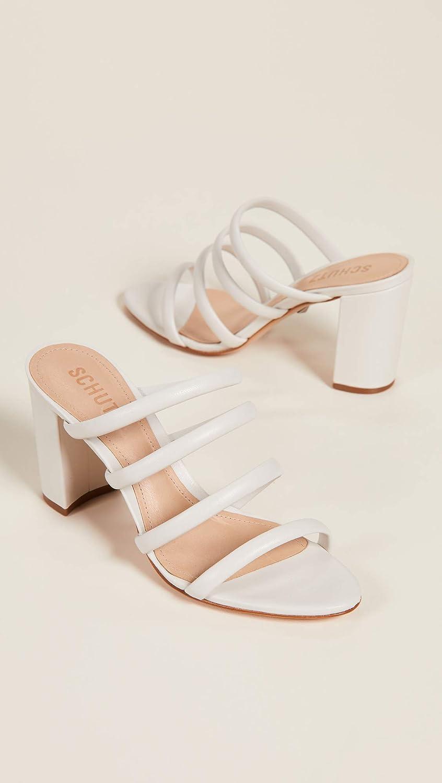 896b18bd78 Amazon.com: SCHUTZ Women's Felisa Tubular Sandals, Pearl, Off White, 11 M US:  Shoes