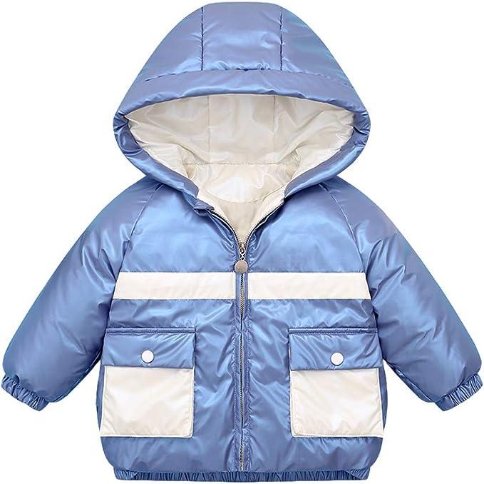 LUCKME Kinder Kinder Baby M/ädchen Junge Winter Kapuzenmantel Jacke Warme Oberbekleidung Kleidung