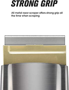 Brass And Stainless Steel Two Piece Scraper